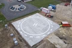 Várpalota helikopter leszállópálya