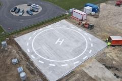 Helikopter leszállópálya