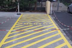 Munkavédelmi festés, mentők